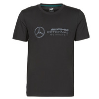 Textiel Heren T-shirts korte mouwen Puma MAPM LOGO TEE Zwart