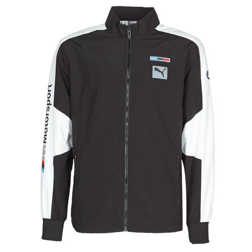 Textiel Heren Trainings jassen Puma BMW MMS WVN JACKET F Zwart / Grijs / Wit