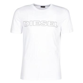 Textiel Heren T-shirts korte mouwen Diesel JAKE Wit