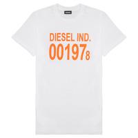 Textiel Kinderen T-shirts korte mouwen Diesel TDIEGO1978 Wit