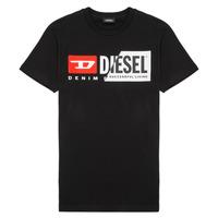Textiel Kinderen T-shirts korte mouwen Diesel TDIEGOCUTY Zwart
