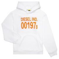Textiel Kinderen Sweaters / Sweatshirts Diesel SGIRKHOOD Wit