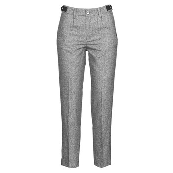 Textiel Dames 5 zakken broeken Freeman T.Porter SHELBY MOKKA Grijs / Clair
