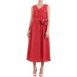 Textiel Dames Lange jurken Fly Girl 9890-02 Rosso