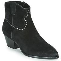 Schoenen Dames Enkellaarzen Ash HOUSTON BIS Zwart
