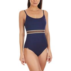 Textiel Dames Badpak Selmark Marinera Jacquard  Mare Voorgevormd 1-delig zwempak Blauw