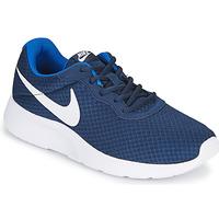 Schoenen Heren Lage sneakers Nike TANJUN Blauw / Wit