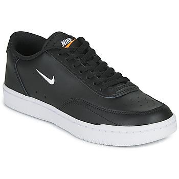 Schoenen Dames Lage sneakers Nike COURT VINTAGE Zwart / Wit
