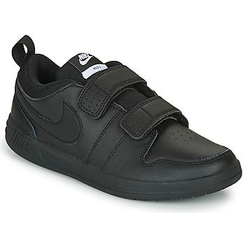 Schoenen Kinderen Lage sneakers Nike PICO 5 TD Zwart