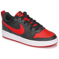 Schoenen Kinderen Lage sneakers Nike COURT BOROUGH LOW 2 GS Zwart / Rood