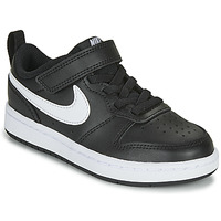 Schoenen Kinderen Lage sneakers Nike COURT BOROUGH LOW 2 PS Zwart / Wit