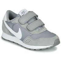 Schoenen Kinderen Lage sneakers Nike MD VALIANT PS Grijs / Wit