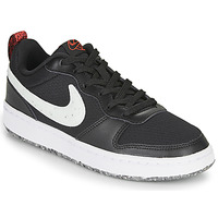 Schoenen Kinderen Lage sneakers Nike COURT BOROUGH LOW 2 MTF GS Zwart / Wit