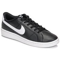 Schoenen Dames Lage sneakers Nike Court Royale 2 Zwart / Wit