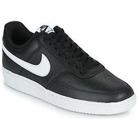 Schoenen Heren Lage sneakers Nike COURT VISION LOW Zwart / Wit