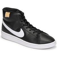 Schoenen Heren Lage sneakers Nike COURT ROYALE 2 MID Zwart / Wit