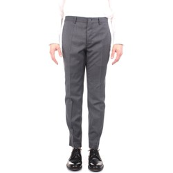 Textiel Heren Chino's Incotex ZR851Z 1037W Grey