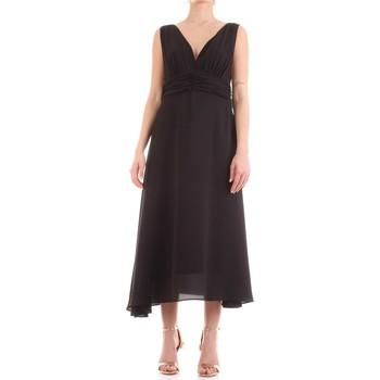 Textiel Dames Lange jurken Fly Girl 9845-01 Nero