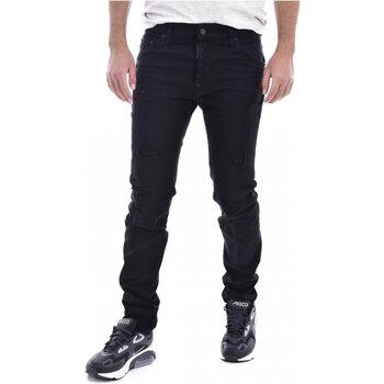 Textiel Heren Skinny jeans Dsquared S71LB0525 Zwart