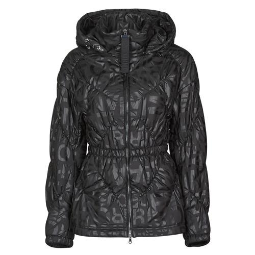 Textiel Dames Dons gevoerde jassen Emporio Armani 6H2B94 Zwart