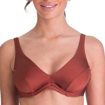 Textiel Dames Bikinibroekjes- en tops Deidad HAUT 14423B/420 Bruin