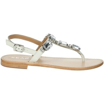 Schoenen Dames Teenslippers Keys K-1711 White