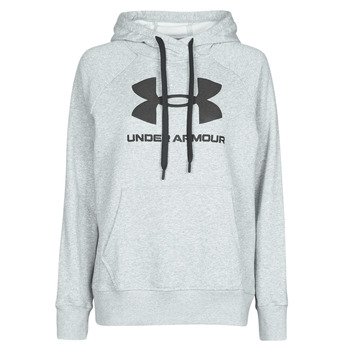 Textiel Dames Sweaters / Sweatshirts Under Armour RIVAL FLEECE LOGO Grijs