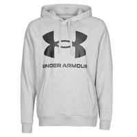 Textiel Heren Sweaters / Sweatshirts Under Armour UA RIVAL FLEECE BIG LOGO HD Grijs / Clair