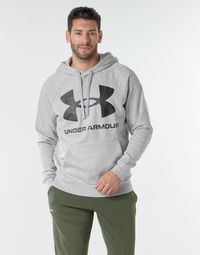 Textiel Heren Sweaters / Sweatshirts Under Armour UA RIVAL FLEECE BIG LOGO HD Grijs / Clair
