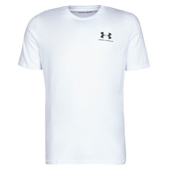 Textiel Heren T-shirts korte mouwen Under Armour SPORTSTYLE LEFT CHEST SS Wit