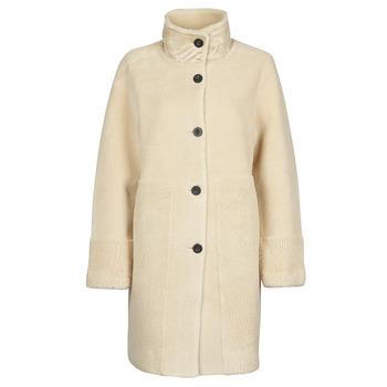 Textiel Dames Mantel jassen Esprit LL* FAKE FUR Beige