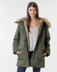 Textiel Dames Parka jassen Esprit LL*3M FEM PARKA Kaki