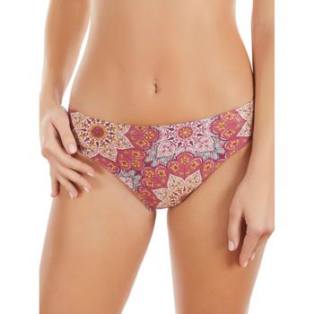 Textiel Dames Bikinibroekjes- en tops Selmark Bikini Zwempak Korte Mandala  Mare Roze