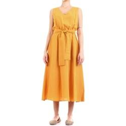 Textiel Dames Lange jurken Fly Girl 9890-02 Giallo