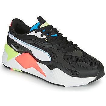 Schoenen Lage sneakers Puma RS-X3 Zwart / Wit / Koraal