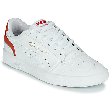 Schoenen Lage sneakers Puma RALPH SAMPSON LO Wit / Rood