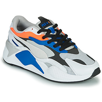 Schoenen Lage sneakers Puma RS-X3 Wit / Blauw / Rood