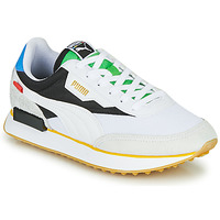 Schoenen Lage sneakers Puma FUTURE RIDER Unity Collection Wit / Zwart