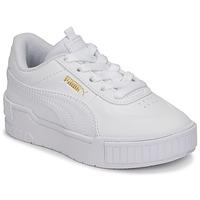 Schoenen Meisjes Lage sneakers Puma CALI SPORT PS Wit