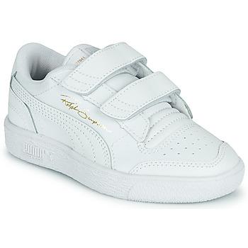 Schoenen Kinderen Lage sneakers Puma RALPH SAMPSON LO PS Wit