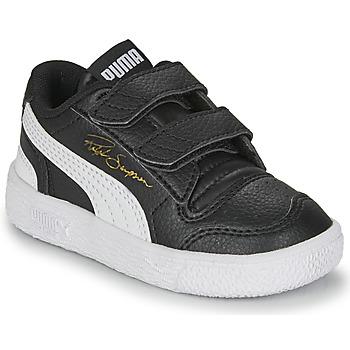 Schoenen Kinderen Lage sneakers Puma RALPH SAMPSON LO INF Zwart / Wit