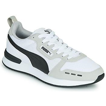 Schoenen Heren Lage sneakers Puma R78 Wit / Zwart