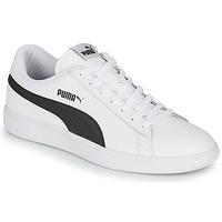 Schoenen Heren Lage sneakers Puma SMASH Wit / Zwart