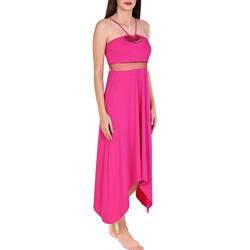 Textiel Dames Lange jurken Lisca Zomerjurk Porto Montenegro Lichtroze
