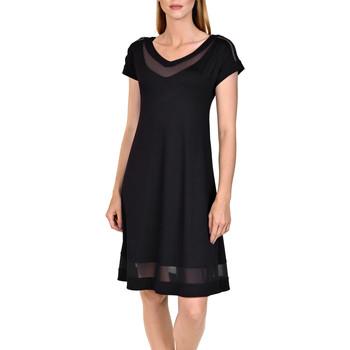 Textiel Dames Korte jurken Lisca Strandjurk Porto Montenegro Parelmoer Zwart
