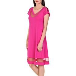 Textiel Dames Korte jurken Lisca Strandjurk Porto Montenegro Lichtroze