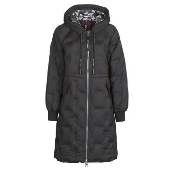 Textiel Dames Dons gevoerde jassen Replay W7610 Zwart