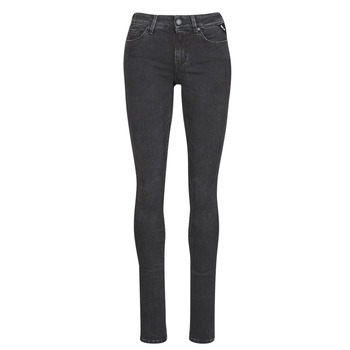 Textiel Dames Skinny jeans Replay LUZ / HYPERFLEX / RE-USED Zwart
