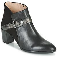 Schoenen Dames Enkellaarzen Hispanitas PIRINEO Zwart