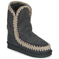 Schoenen Dames Laarzen Mou ESKIMO 24 Zwart